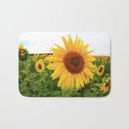 Sunflower 9 Bath Mat