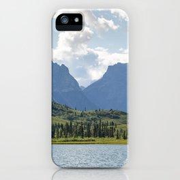 First Lake & Mount Blackburn, Donoho Basin iPhone Case