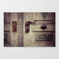 door Canvas Prints featuring door by Deviens