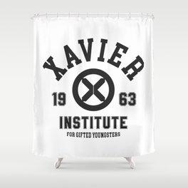 Xavier Institute Shower Curtain