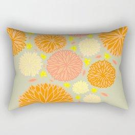autumn mums Rectangular Pillow