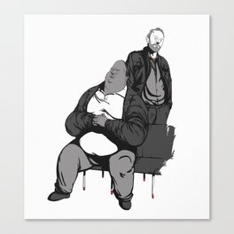 Huell and Kuby Canvas Print