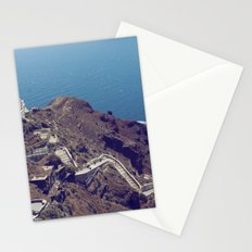 Santorini Stairs Stationery Cards