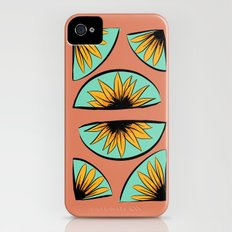 sunflower pieces  iPhone (4, 4s) Slim Case