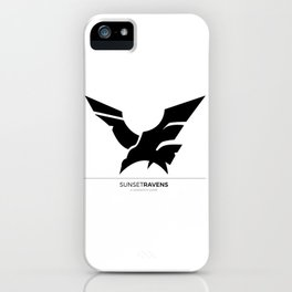 Sunset Ravens iPhone Case