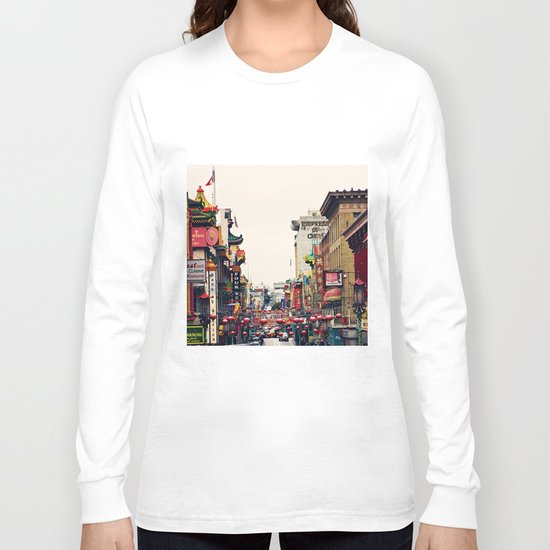 San Francisco China Town Long Sleeve T-shirt