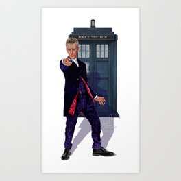 12th Doctor Art Print