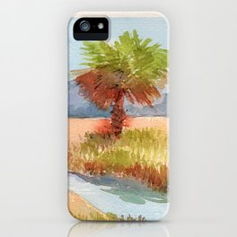 Ranch Palms iPhone Case