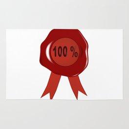 Wax Stamp 100 Percent Rug