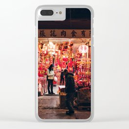Year of the Dog Clear iPhone Case