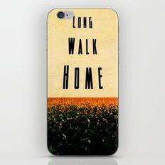 walk home iPhone & iPod Skin