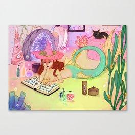 Underwater Spell Canvas Print