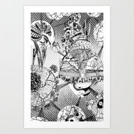 1,616199·10^(-35) m Art Print