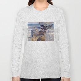 Valencian Fisherman - Joaquín Sorolla  Long Sleeve T-shirt