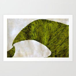 two green arches Art Print