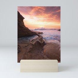 Crashing Waves Mini Art Print