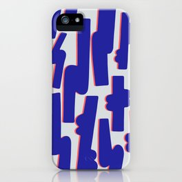 Blue Candy iPhone Case