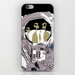 Meet Buzz Aldrin iPhone Skin