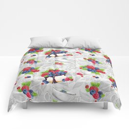 Berries Pattern 08 Comforters