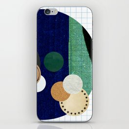 the study of circles... iPhone Skin