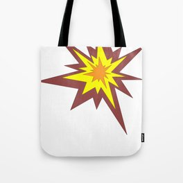 Explosion! Tote Bag