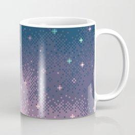 Lilac Nebula (8bit) Coffee Mug