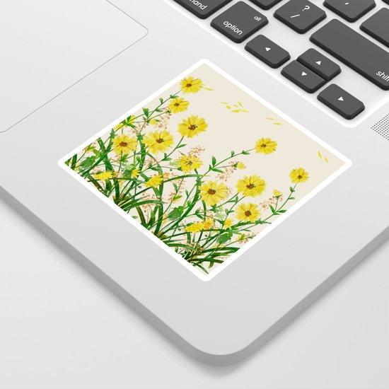 Yellow Wildflowers by nadja1