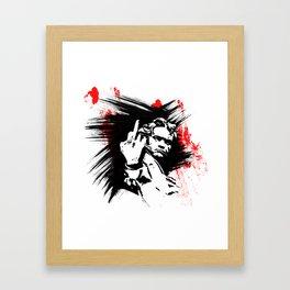Beethoven FU Framed Art Print