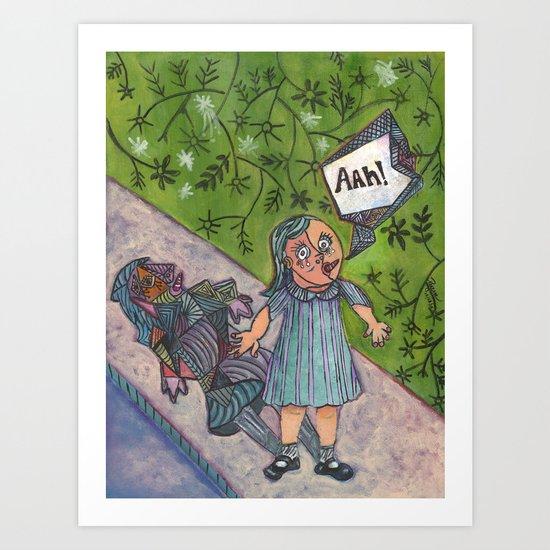 Picasso-ized Art Print