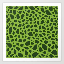 Cell Pattern Art Print