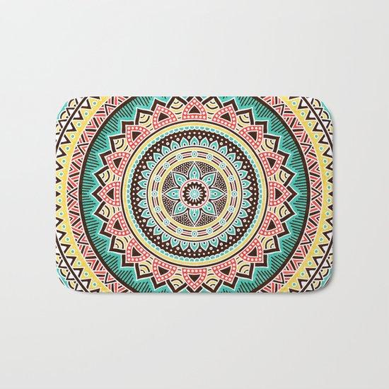 Hippie Mandala 13 Bath Mat
