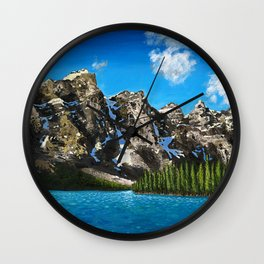 Canadian Vista  Wall Clock