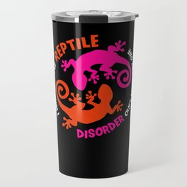 Reptile Lover Shirt bearded dragon exotic pet Travel Mug
