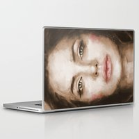 angelina jolie Laptop & iPad Skins featuring Jolie by Dnzsea
