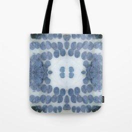 Sea Shell Disco Powder Blue Tote Bag