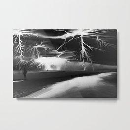Storm (Digital Art) Metal Print
