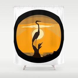 MIRANDO EL HORIZONTE Shower Curtain