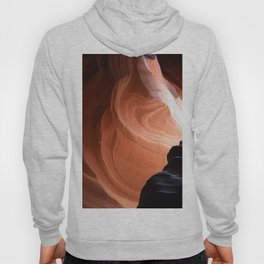 Antelope Canyon Reddish And Blue Tones Hoody