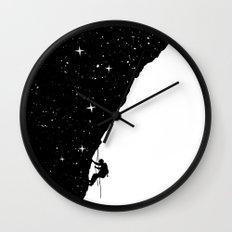 night climbing Wall Clock
