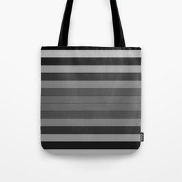 Black and Gray Stripes Tote Bag