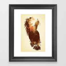 Polish Girl Framed Art Print