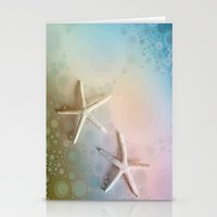 starfish Stationery Cards featuring Starfish by ALLY COXON