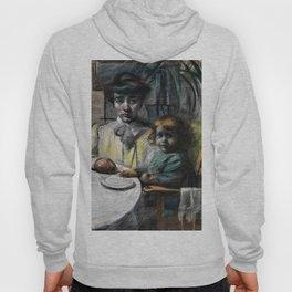 Umberto Boccioni - Balla's wife and daughter - Digital Remastered Edition Hoody
