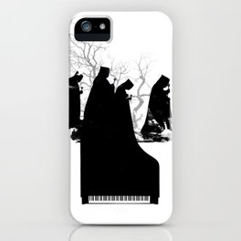 Piano Procession iPhone Case