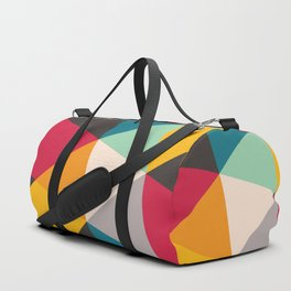 Geometric Triangles Duffle Bag