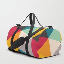 Geometric Triangles Duffle Bag