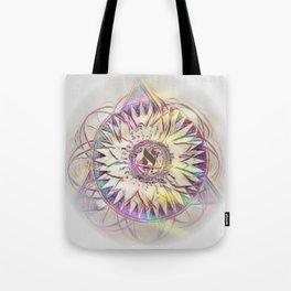 Aleph Mandala Tote Bag
