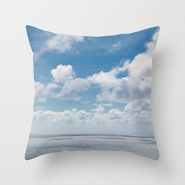 On top of the rock Throw Pillow