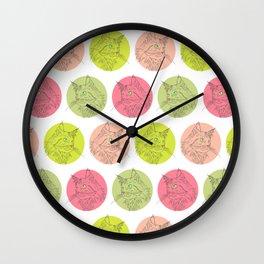 Micha the cat  Wall Clock