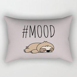 #MOOD - Sleepy Sloth Rectangular Pillow
